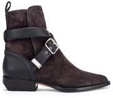 Chloé Rylee Buckle Boots in Black | FWRD