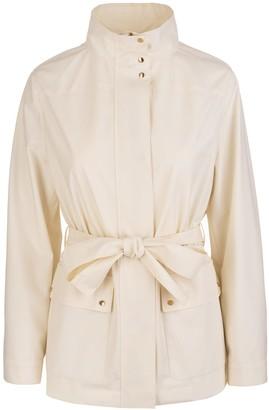 Agnona Field Jacket Eternals In Fresh Showerproof Wool