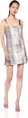Ramy Brook Women's Adrian Snake Sequin Dress