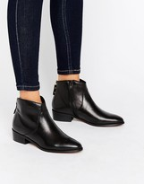 Dune Pearcey Back Zip Low Boots