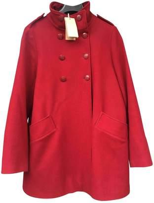 Sessun \N Red Wool Coat for Women