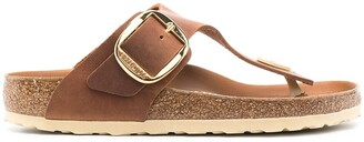 Birkenstock Gizeh buckle sandals