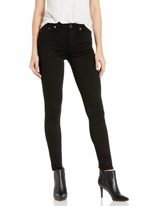 True Religion Women's Halle High Rise Skinny Leg fit Jean Crystals