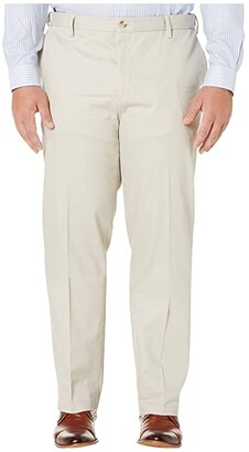 Dockers Big Tall Classic Fit Signature Khaki Lux Cotton Stretch Pants Navy) Men's Casual Pants