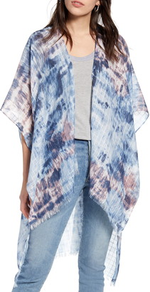 Treasure & Bond Tie Dye Wrap Scarf