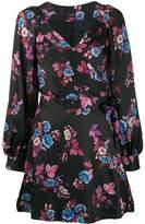 Pinko floral print wrap dress