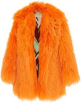 Emilio Pucci Oversized Fur Coat
