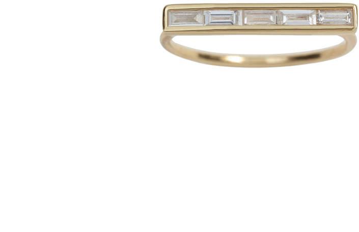 Ariel Gordon Baguette Diamond Ring - Size 5