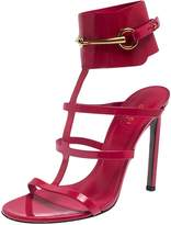 Gucci Red Patent leather Sandals