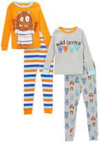 Orange & Blue Monster Pajama Set - Infant, Toddler & Boys