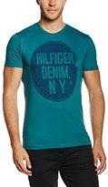 Tommy Hilfiger Men's Thdm CN S/S 3B T-Shirt,XXL