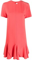 Victoria Victoria Beckham flared hem short dress