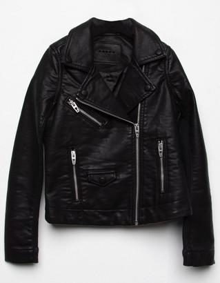 Blank NYC Girls Vegan Leather Jacket