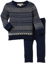 Appaman Fair Isle Pant Set (Baby) - Galaxy-3-6 Months