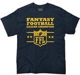 Brisco Brands Graphic Fantasy Football Trophy League Championship FFL Gift T-Shirt