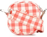 Courreges mini gingham cross-body bag