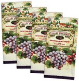 """DII Cotton Printed Terry Dish Towels, 15 x 26"""" Set of 4, Ultra Absorbent Decorative Kitchen Towels"""