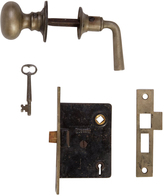 Rejuvenation Complete Interior Door Set w/ Key