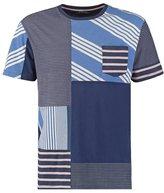 Desigual David Print Tshirt Twilight Blue
