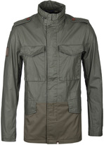 Pretty Green Khaki Jetson Jacket