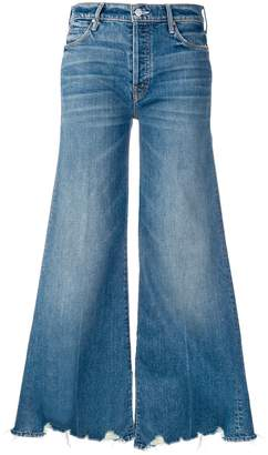 Mother Stunner denim flared jeans