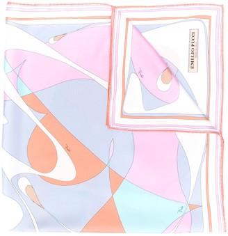 Emilio Pucci Alex Print Silk Scarf