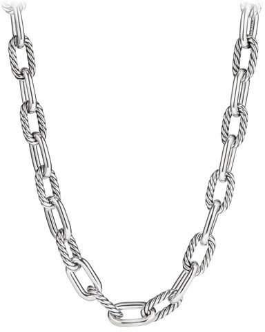 "David Yurman Madison Chain 13.5mm Large Link Necklace, 18"""