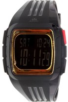 adidas Men's Duramo ADP6135 Black Rubber Quartz Sport Watch