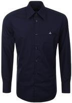 Vivienne Westwood Long Sleeved Shirt Navy