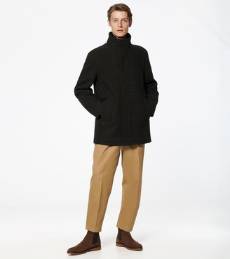 Andrew Marc Coyle Novelty Wool Coat