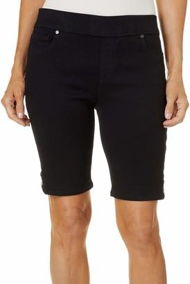 Gloria Vanderbilt Women's Petite Avery Pull On Bermuda Short