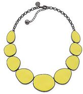 Liz Claiborne Yellow Hematite Collar Necklace