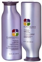 Pureology Hydrate Shampoo and Conditioner Set, 8.5 oz.