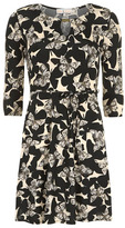 Dorothy Perkins Billie and Blossom camel butterfly dress