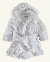 Ralph Lauren Infant Boy Terry Hooded Robe