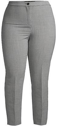 Marina Rinaldi, Plus Size Regalo Wool Straight Pants