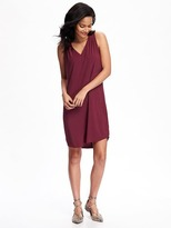 Old Navy V-Neck Shift Dress for Women