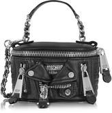 Moschino Black Nappa Shoulder Bag