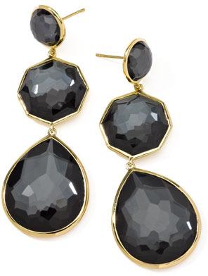 Ippolita Hematite Crazy-Eight Earrings