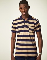 Ben Sherman Two Way Collar Polo Shirt