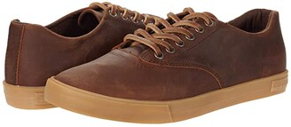 SeaVees Hermosa Sneaker Rugged Oiled Leather (Kona) Men's Shoes