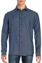 Tailor Vintage Long Sleeve Cotton Sportshirt