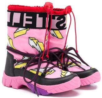 Stella McCartney Kids Lightning Bolt Snow Boots