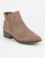 Bamboo W Elastc Side Slit Boot