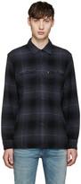Levi's Grey Plaid Worker Shirt