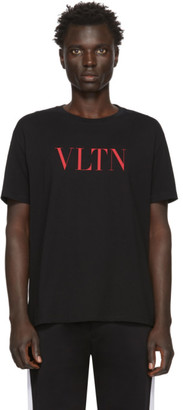 Valentino Black and Red VLTN T-Shirt