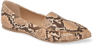 Steve Madden Feather Loafer Flat
