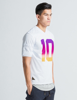 10.Deep White Burnout Jersey