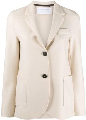 Harris Wharf London Single-Breasted Wool Blazer