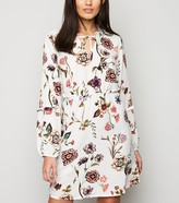 New Look JDY Floral Long Sleeve Dress